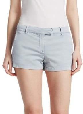 Theory Bennie Cotton Shorts