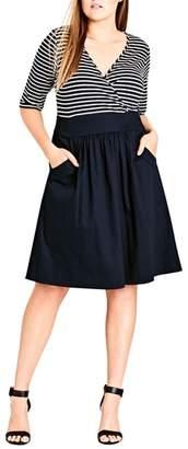 City Chic Ahoy Dress