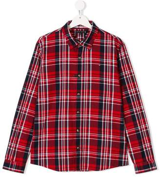 Tommy Hilfiger Junior TEEN check shirt