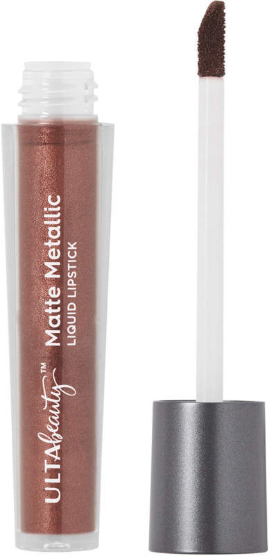 ULTA Matte Metallic Liquid Lipstick - Disobey (golden brown with pearl shimmer)