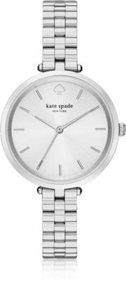 Kate Spade Holland Skinny Silver Tone Bracelet Watch