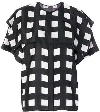 Christopher Kane The Hill House cape shirt
