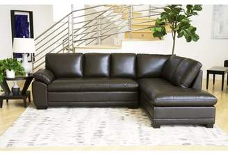 Co Darby Home Barnard Leather Sectional
