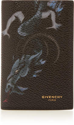 Givenchy Dragon Leather Folding Card Case