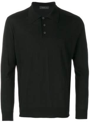 Prada plain polo shirt