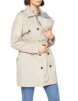 d06cfa0460022 Noppies Women's Trenchcoat 3 Way Nancy Maternity Coat,(Size: ...