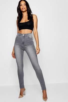 boohoo High Waisted Classic Skinny Jeans