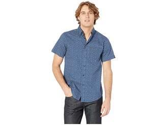Ben Sherman Ditsy Floral Print Short Sleeve Shirt Men's Short Sleeve Button Up