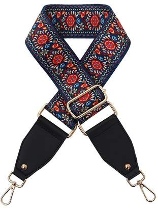 """Cos DUNHAO Long 47"""" Wide 2"""" Replacement Guitar Style Straps, Adjustable Straps for Cross Bag"""