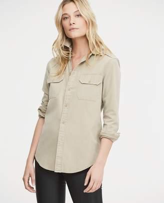 Ralph Lauren Cotton Chino Military Shirt