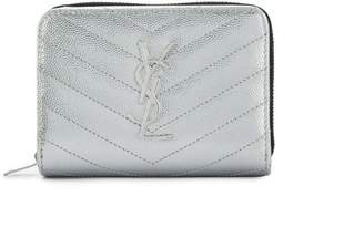 Saint Laurent Monogram zipped wallet