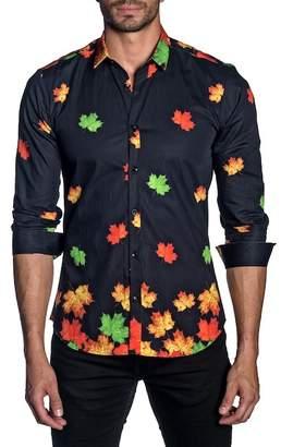 Jared Lang Modern Fit Long Sleeve Shirt