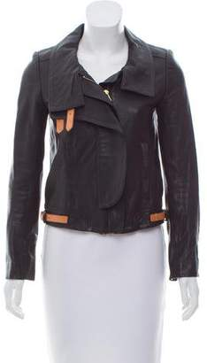 A.L.C. Structured Leather Jacket