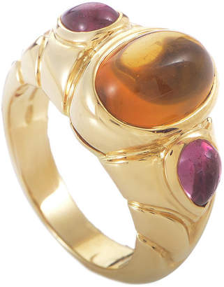 Bulgari Heritage  18K Gemstone Ring