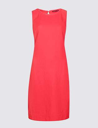 Marks and Spencer Linen Blend Sleeveless Tunic Dress