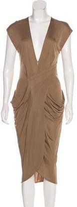 Miguelina Sleeveless Midi Dress
