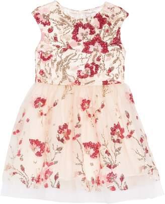 Halabaloo Sequin Embellished Dress