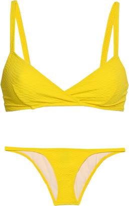Lisa Marie Fernandez Cloque Triangle Bikini