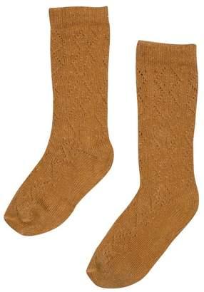 Bebe Organic Louisa Socks, Apple Cinnamon