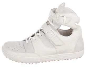 Birkenstock Leather High-Top Sneakers