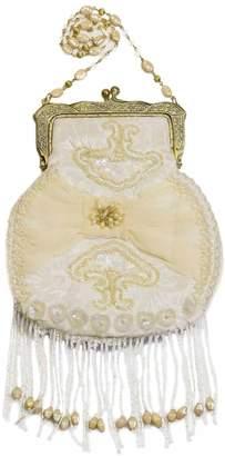Vintage Addiction Victorian Inspired Fringed Ivory Purse