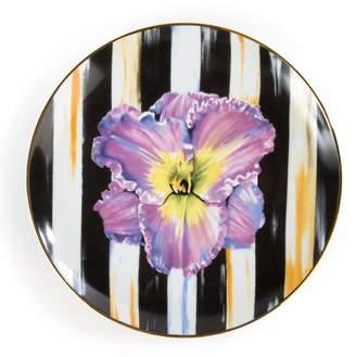 Mackenzie Childs Thistle & Bee Iris Salad Plate (21cm)