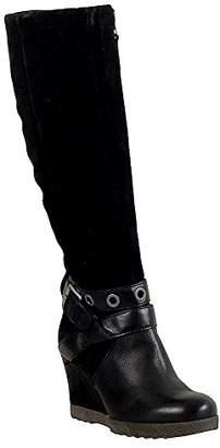 Miz Mooz Women's Nina Knee-High Wedge Boot