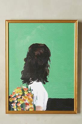 Clare Elsaesser for Framebridge Spring Dress Wall Art