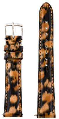 Michele 16mm Patent Leather Watch Strap Multicolor 16mm Patent Leather Watch Strap