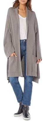 Michael Stars Shawl Collar Cashmere Blend Cardigan