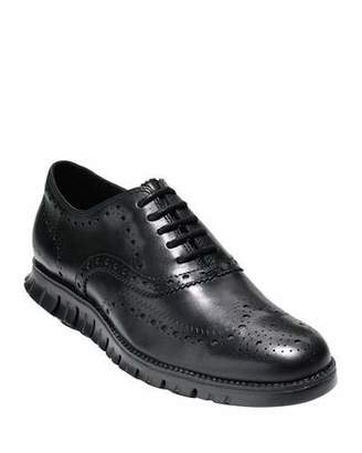 Cole Haan Men's ZeroGrand Leather Wing-Tip Oxfords
