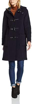 Gloverall Women's Slim Long Duffle Long Sleeve Coat,8