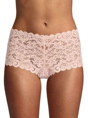 Hanro Boyleg Sheer Lace Hipsters