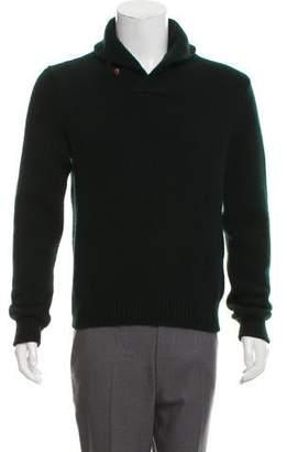 Ralph Lauren Purple Label Cashmere Mock Neck Sweater