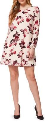 Dex Paisley-Print Shift Dress