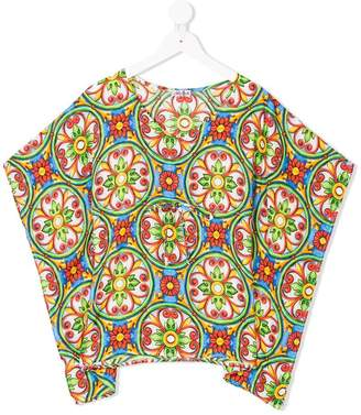 MC2 Saint Barth Kids printed tunic blouse