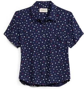 Ralph Lauren Denim & Supply Cropped Button-Down Shirt $69.50 thestylecure.com