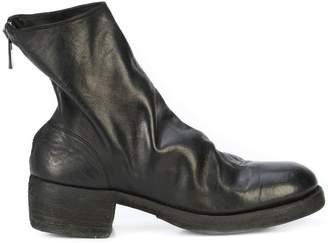 Guidi rear zip boots