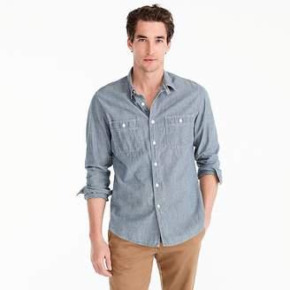 J.Crew Selvedge Japanese chambray utility shirt