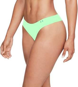 Under Armour Pure Stretch Thong Underwear - Women's