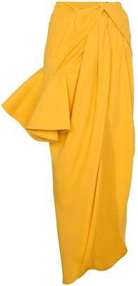 Jacquemus sol asymmetric ruffled skirt