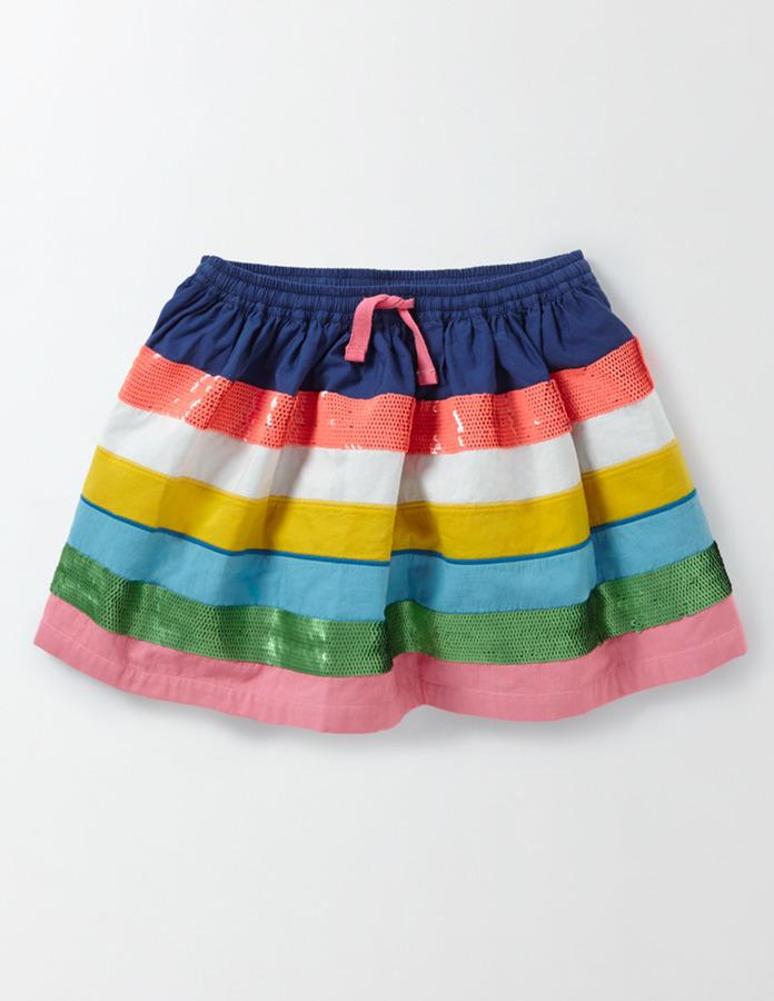BodenSparkling Detailed Skirt