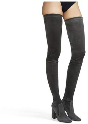 Tamara Mellon Helmut Thigh High - Stretch Suede