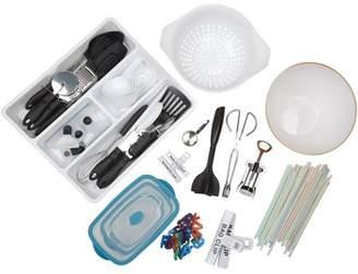 Mainstays Tools and Gadgets Set, 44-Piece Kitchen Basics