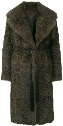 Plein Sud Jeans oversized trench coat