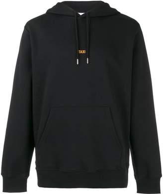 Helmut Lang Taxi print hoodie