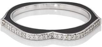 Ring Black Raphaele Canot Women's OMG! Thin Lips Ring