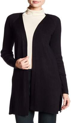 Cable & Gauge Cozy Ribbed Open Front Cardigan