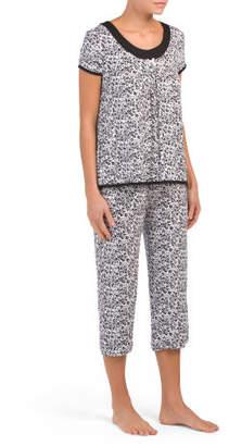 Simply Me Capri Pajama Set