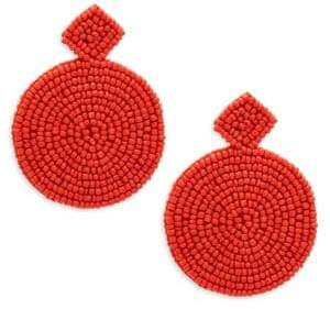 Kenneth Jay Lane Round Bead Drop Earrings